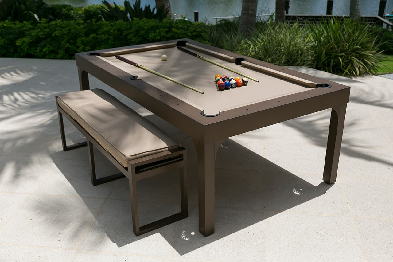 7FT Balcony Outdoor Dining Pool Table