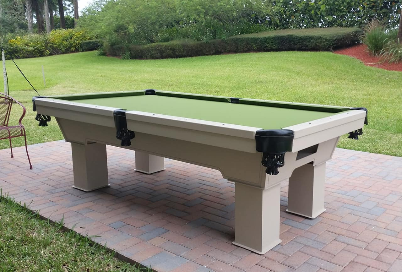 8ft Caesar Outdoor Pool Table