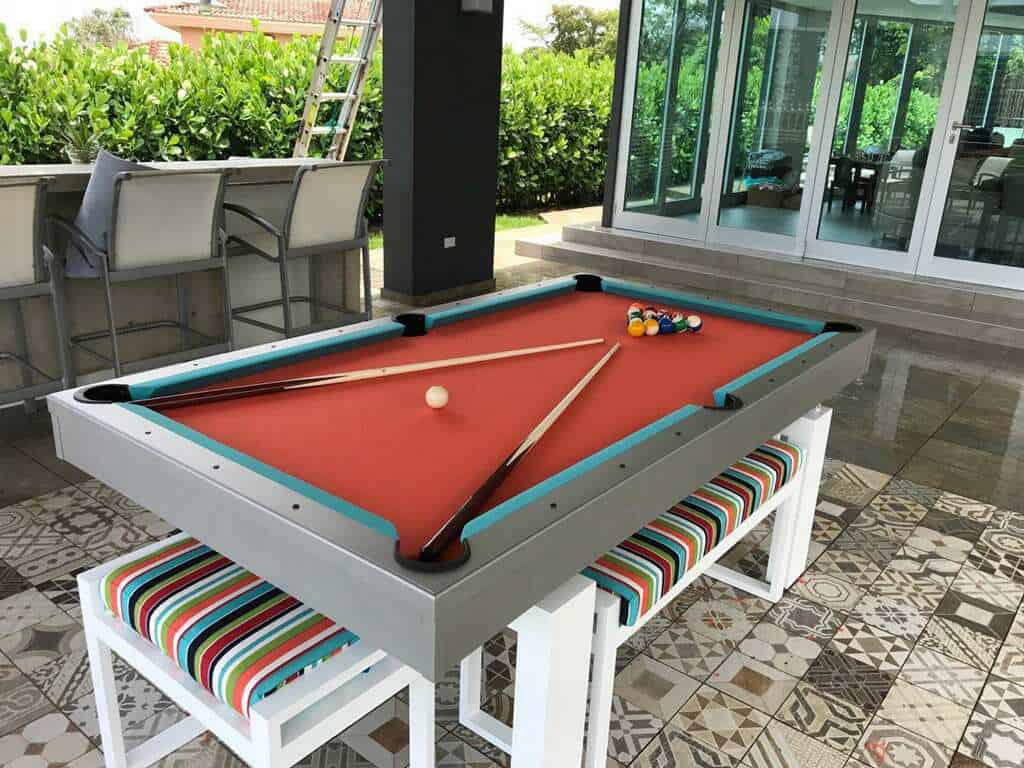 South Beach Outdoor Pool Dining Table