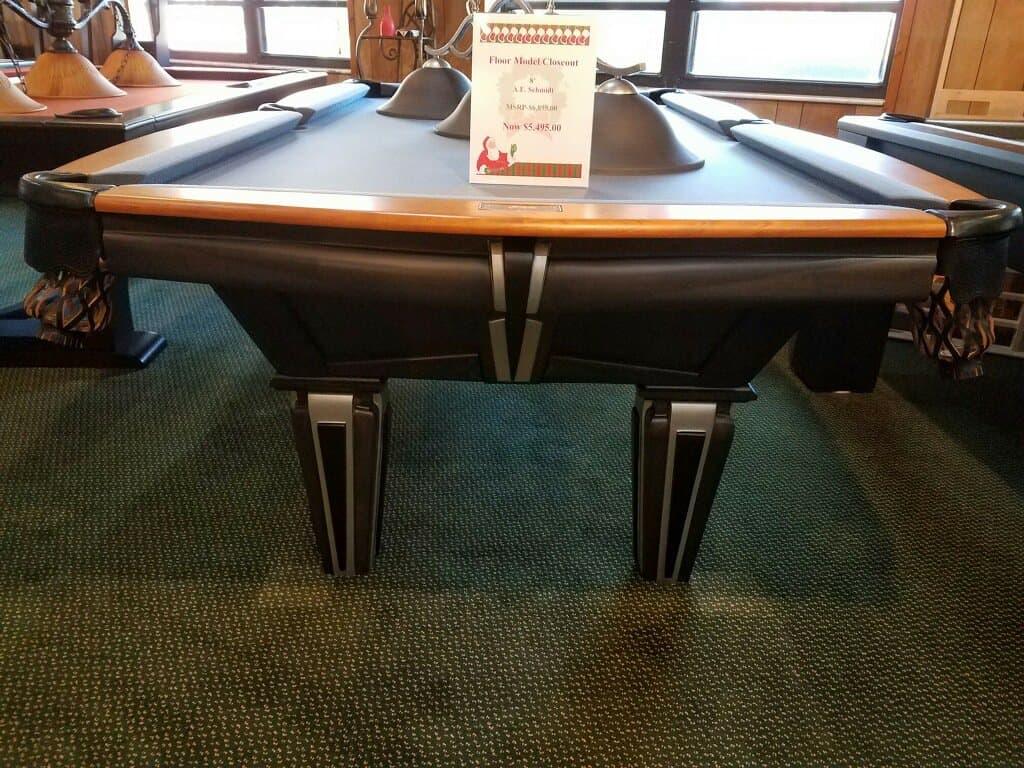 8ft A E Schmidt Bijou Pool Table
