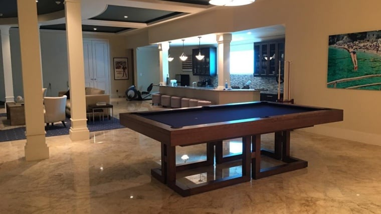 8ft Maze Pool Table