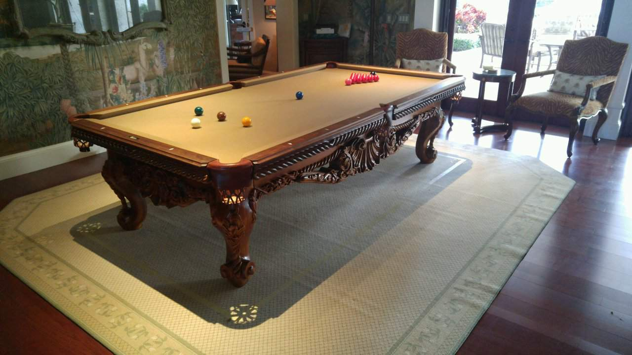 9ft Vitalie Tsunami Pool Table