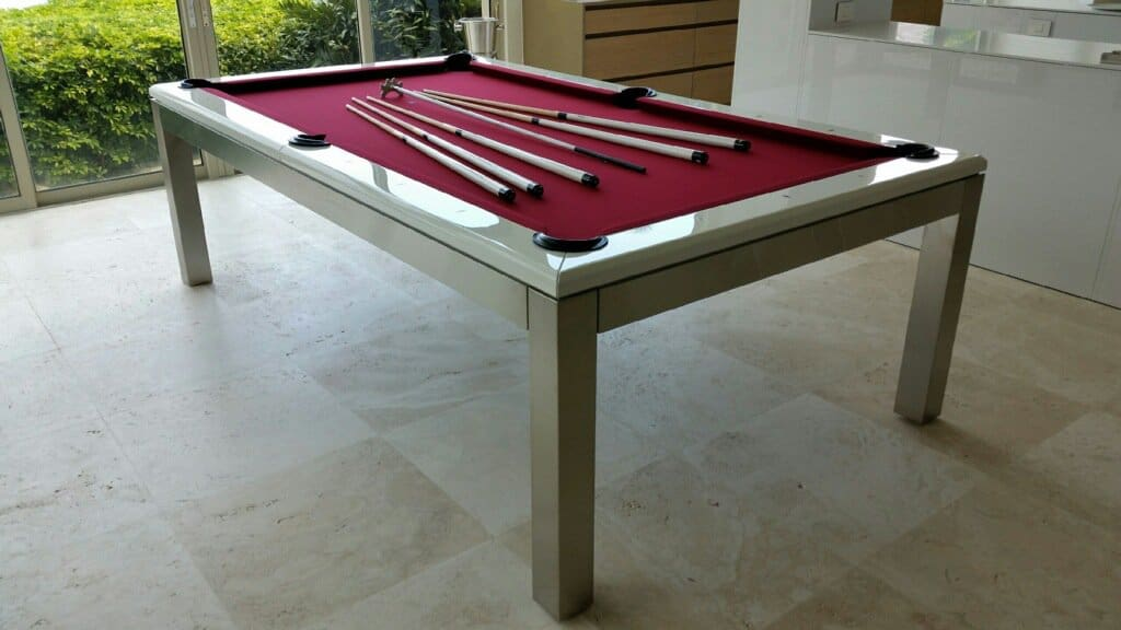 Canada Billiard La Condo Stainless Steel Pool Table