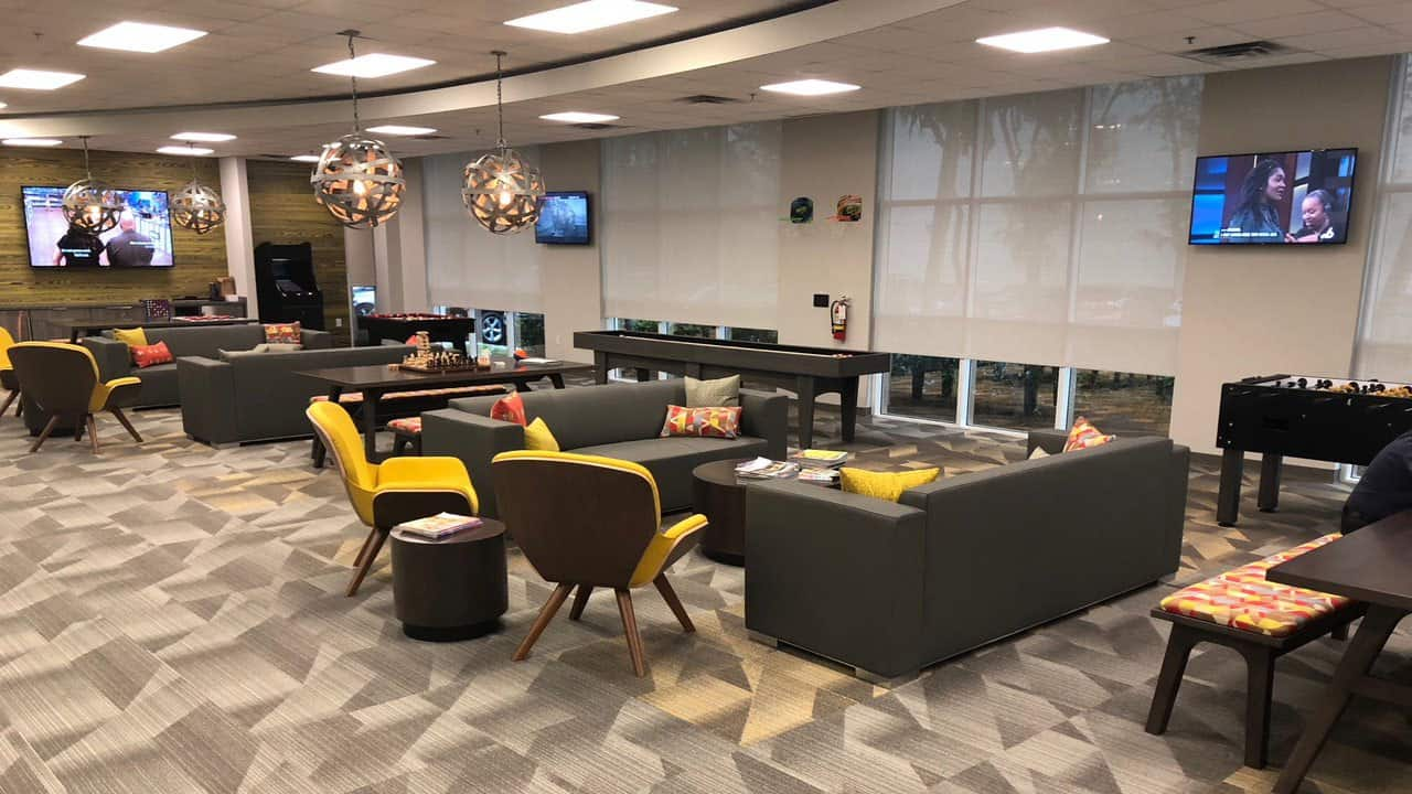Corporate Game Room chairs