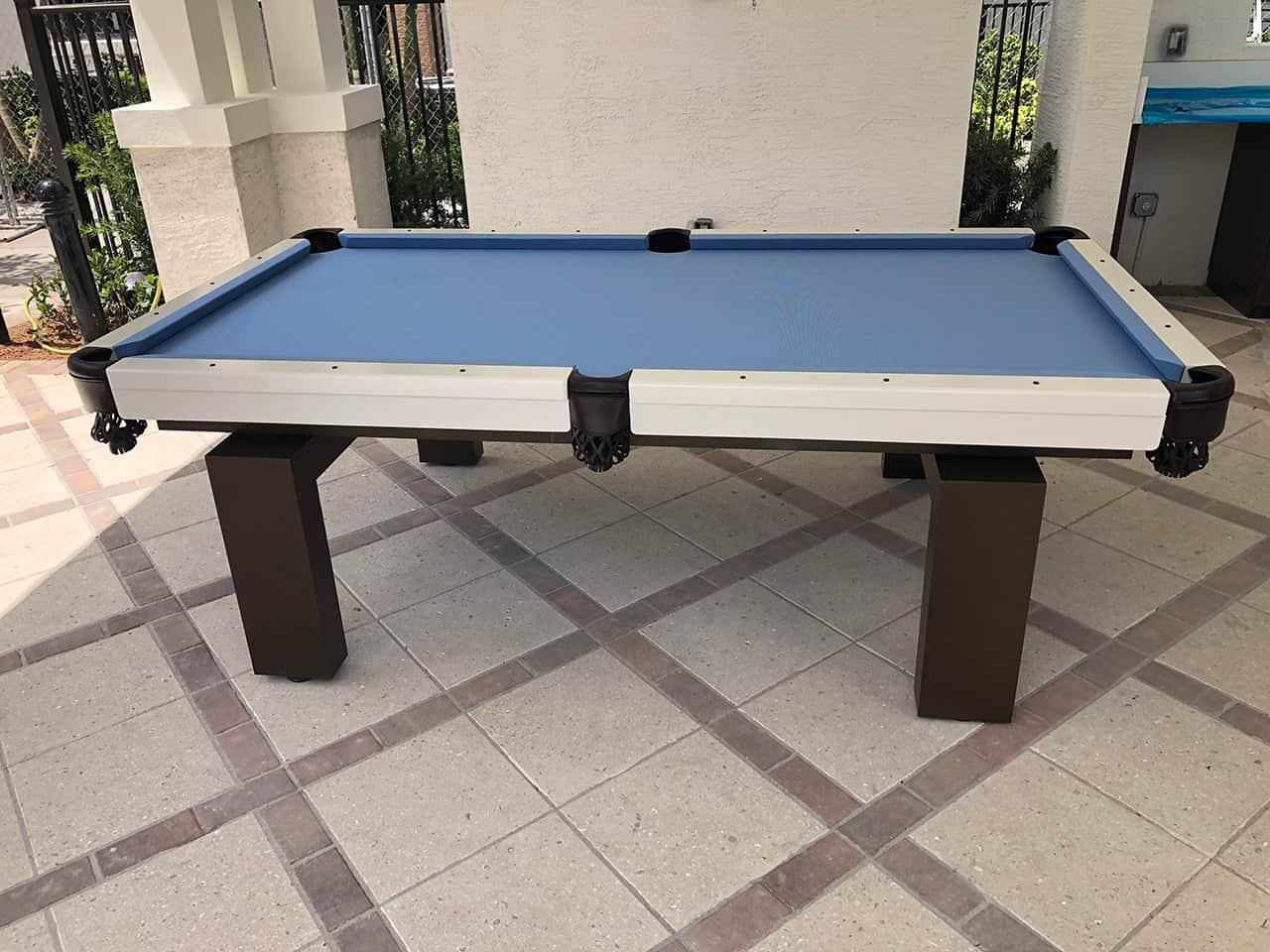 8ft South Beach Outdoor Pool Table Boynton Billiards