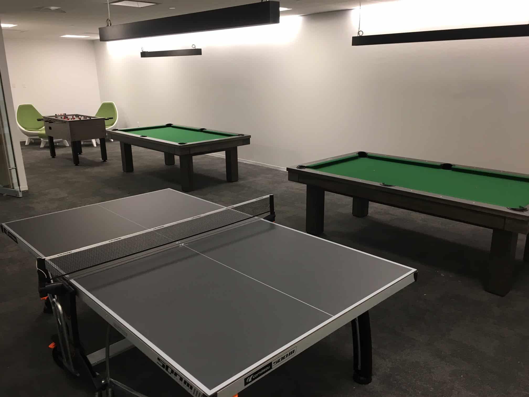 American Express Corporate Game Room Boynton Billiards